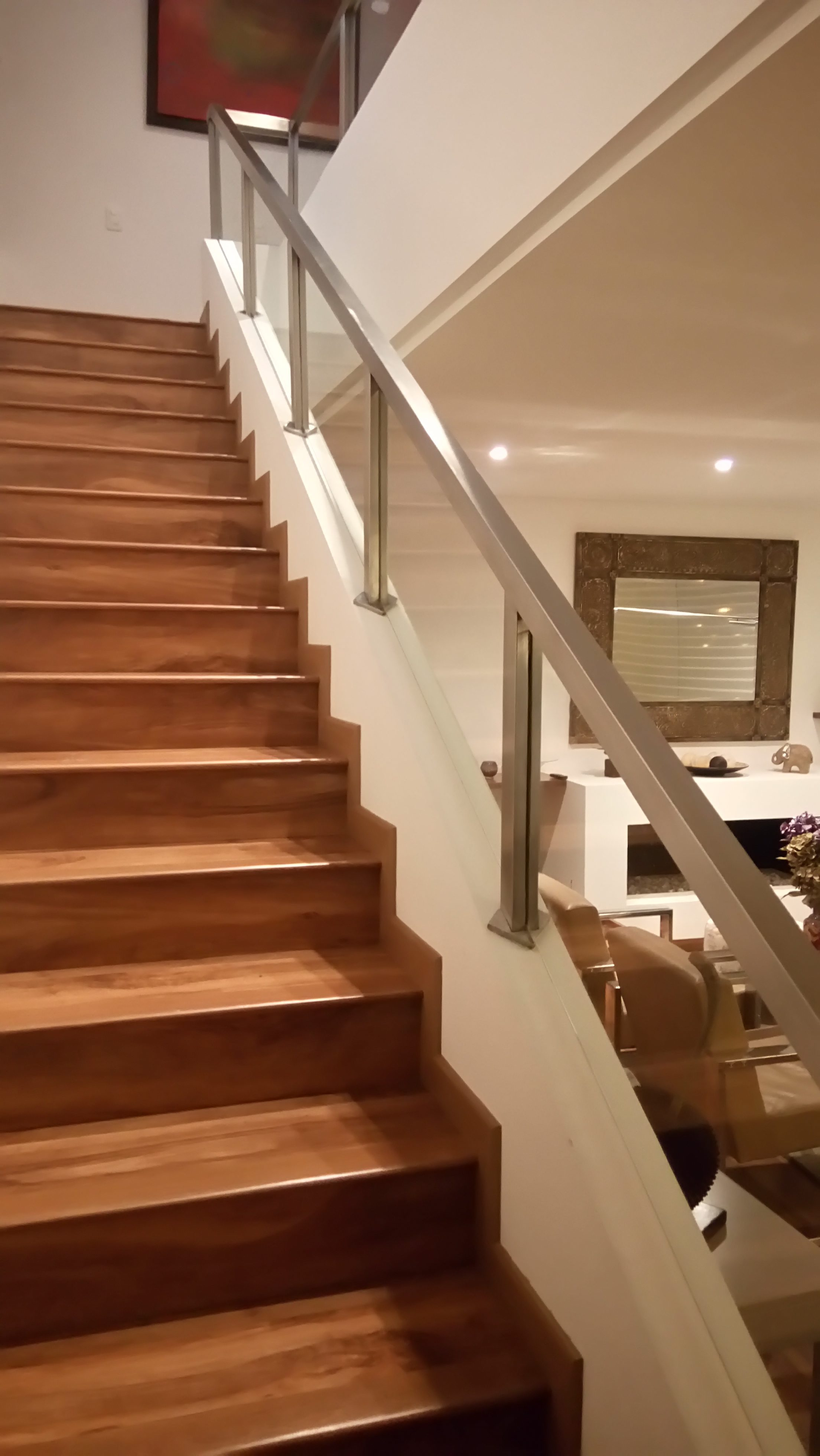 barandas para escaleras modernas