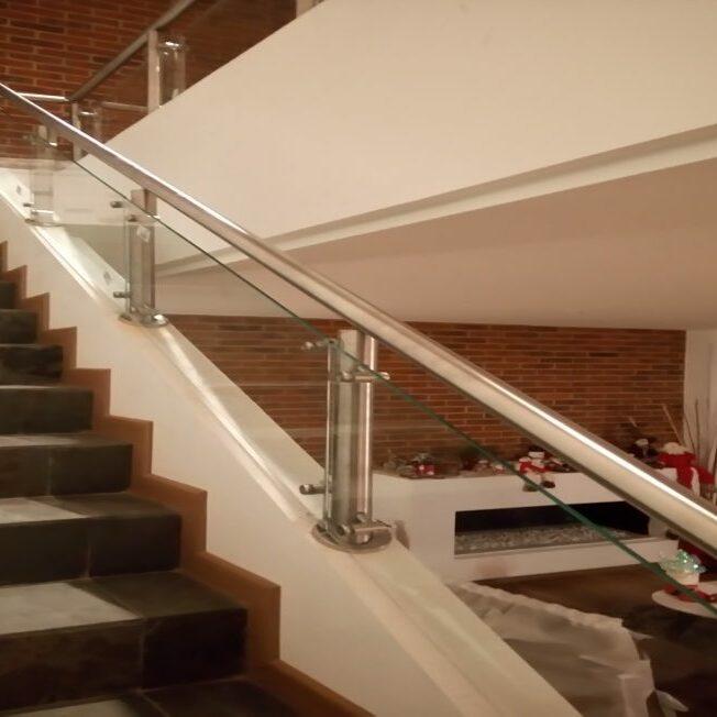 barandas de seguridad para escaleras